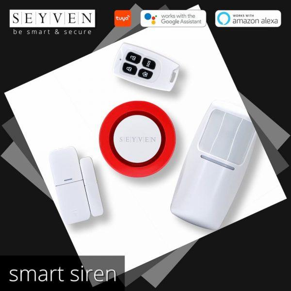Smart Alarm Siren SEYVEN